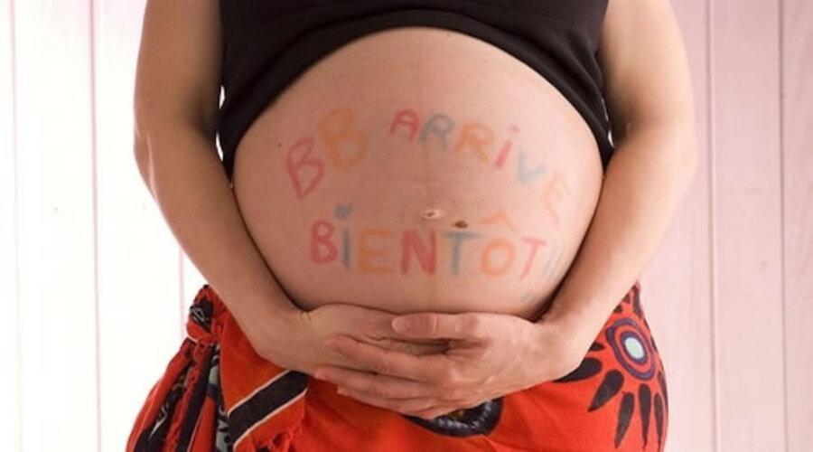 9ème mois de grossesse - dernière ligne droite avant l'arrivée du bébé